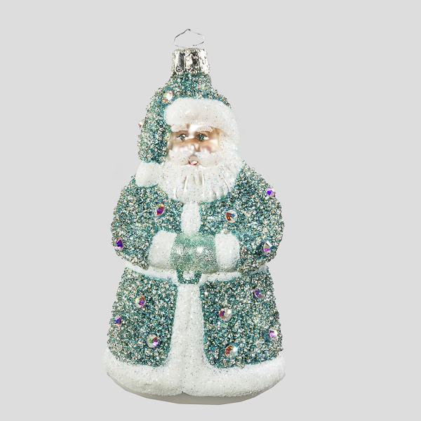 Kleiner Swarovski Nikolaus, Petrol-Opal