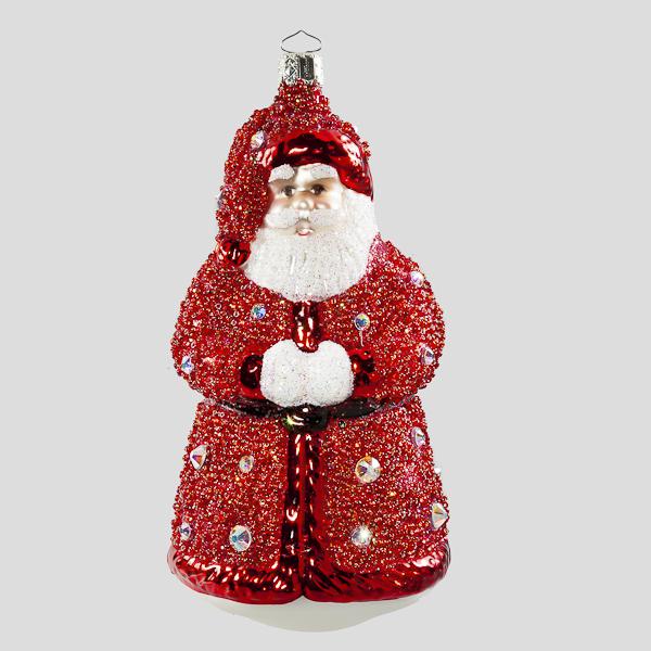 Kleiner Swarovski Nikolaus, Rot