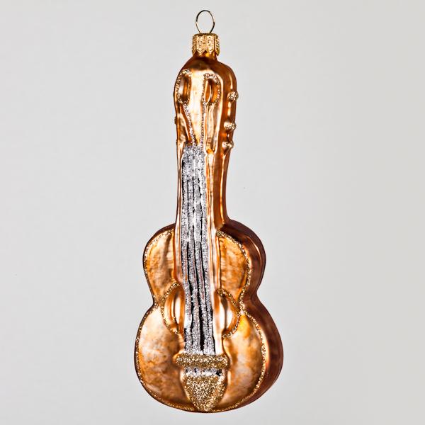 Christbaumkugel, Gitarre, 5 x 13 cm