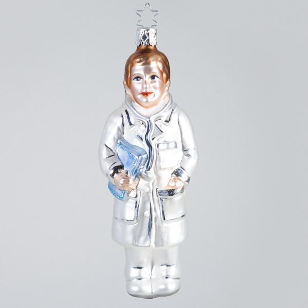 Christbaumkugel, Chefarzt Dr. X-Mas, 5 x 14 cm