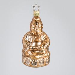 Christbaumkugel, Die Weisheit des Buddha, 5,5 x 10 cm