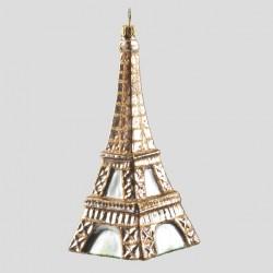 Christbaumkugel, Eiffelturm, 6 x 14 cm