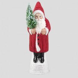 Weihnachtsmann, Rot, geperlt, 26 cm
