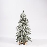 Miniatur-Weihnachtsbaum, Alpen-Tanne, gefrostet, 45 cm