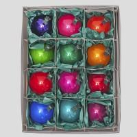 Christbaumkugeln, Kugelmischung, Kinder-Mix auf Clip, ø 8 cm