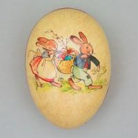 """Osterdekoration, Füll-Osterei """"Ostereiersuche"""", 15 cm"""