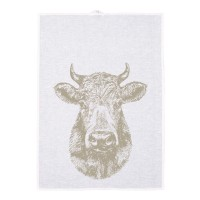 Geschirrtuch, Kuh, schlamm, 50 x 70 cm