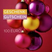 Geschenk-Gutschein,  Wert € 100,-